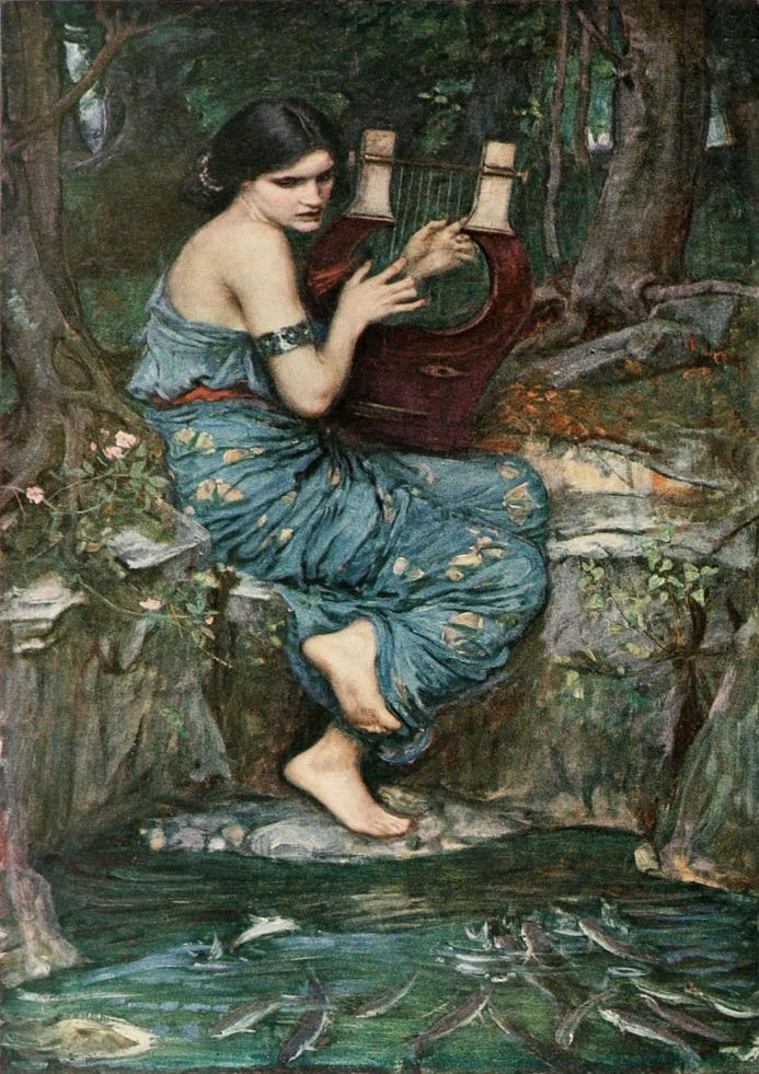 Waterhouse, John William: The Charmer. Fine Art Print/Poster. Sizes: A4/A3/A2/A1 (00842)